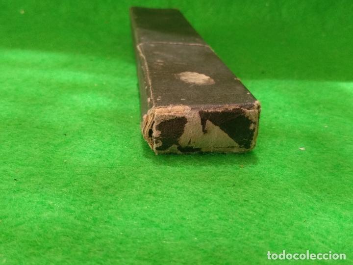 Antigüedades: NAVAJA DE AFEITAR 14 F ARRUABARRENA RENTERIA CON ESTUCHE ORIGINAL - Foto 12 - 167919944