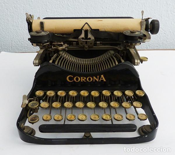 MÁQUINA DE ESCRIBIR PORTÁTIL CORONA 3 (Antigüedades - Técnicas - Máquinas de Escribir Antiguas - Otras)