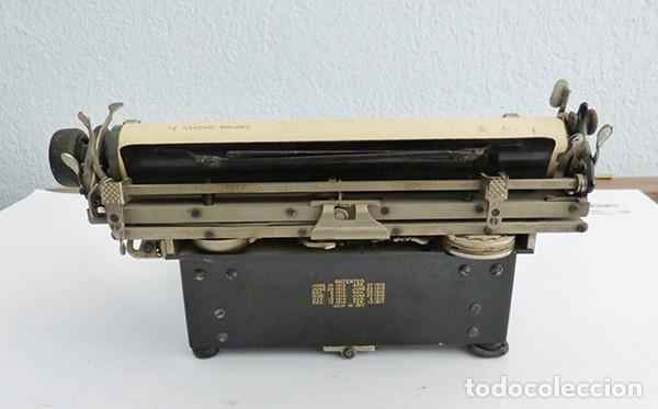 Antigüedades: Máquina de escribir portátil Corona 3 - Foto 6 - 167971992