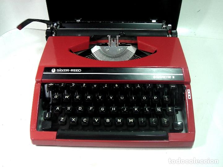PRECIOSA SILVERETTE II SILVER REED-JAPAN SEIKO AÑOS 70-COMO NUEVA-MAQUINA DE ESCRIBIR ANTIGUA RED (Antigüedades - Técnicas - Máquinas de Escribir Antiguas - Otras)