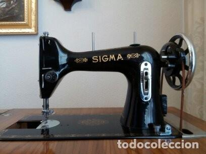 Antigüedades: Maquina de coser Sigma - Foto 2 - 168104692