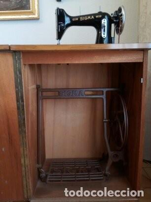 Antigüedades: Maquina de coser Sigma - Foto 3 - 168104692