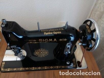 Antigüedades: Maquina de coser Sigma - Foto 4 - 168104692
