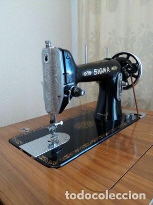 Antigüedades: Maquina de coser Sigma - Foto 6 - 168104692