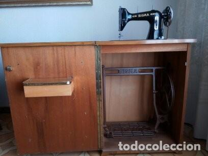 Antigüedades: Maquina de coser Sigma - Foto 7 - 168104692