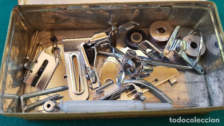 Antigüedades: CAJA METAL WERTHEIM CON COMPLEMENTOS - Foto 3 - 168121420