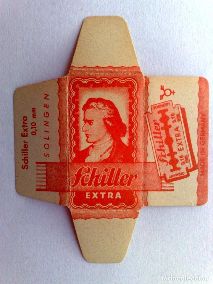 Antigüedades: HOJA DE AFEITAR ANTIGUA,SCHILLER-EXTRA - Foto 2 - 168189976