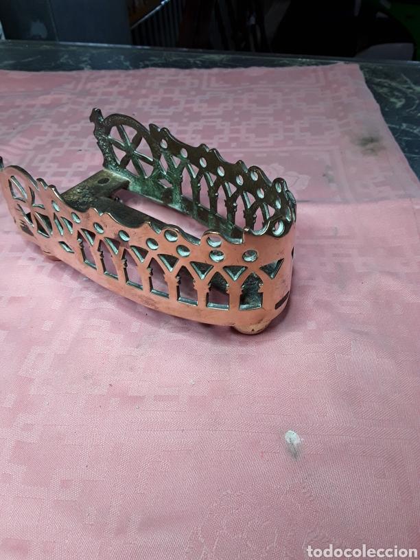 Antigüedades: Posaplanchas de latón - Foto 5 - 168191769