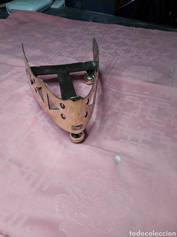 Antigüedades: Posaplanchas de latón y forja - Foto 4 - 168192609