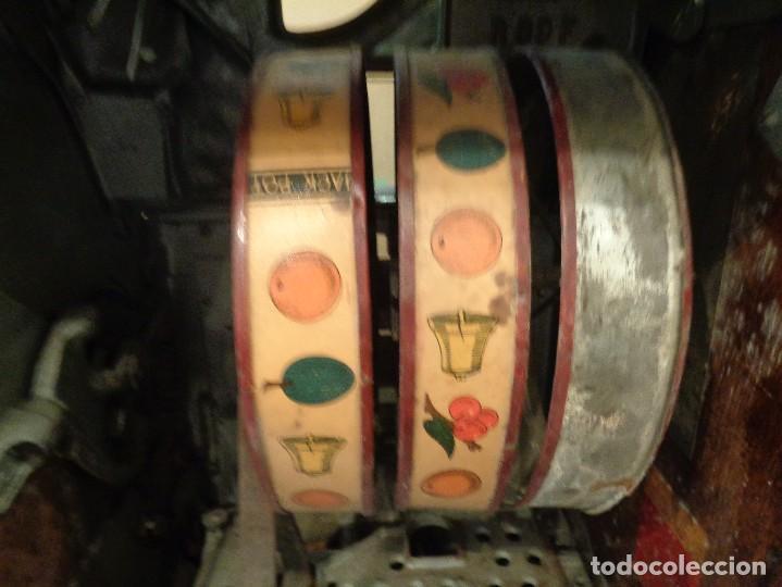 Antigüedades: MAQUINA TRAGAPERRAS TWIN JACK POT - Foto 5 - 168256272