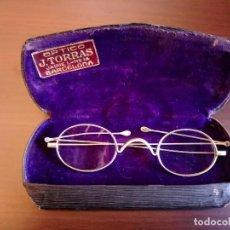 Antigüedades: GAFAS ANTIGUAS DE PRINCIPIOS DEL SIGLO XX. Lote 168257076