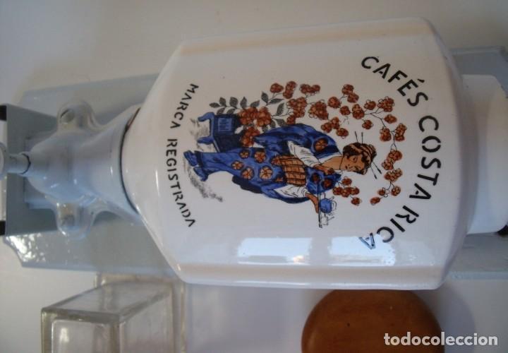 Antigüedades: RARÍSIMO MOLINILLO DE CAFÉ MURAL, CAFÉS COSTA RICA - Foto 13 - 168257328