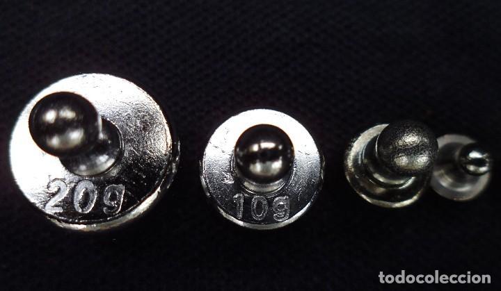 Antigüedades: 5 PESAS DE DIFERENTE PESO, 20GR,10GR, 5GR, 2GR Y 1GR MIRA LAS FOTOS - Foto 3 - 168285240