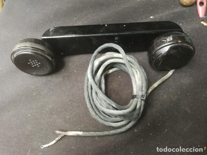 TELÉFONO ANTIGUO NO SE LA MARCA O MODELO (Antigüedades - Técnicas - Teléfonos Antiguos)