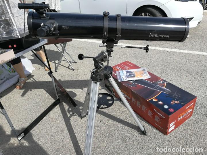 TELESCOPIO REFLECTOR CELESTRON POWERSEEKER 114EQ (Antigüedades - Técnicas - Otros Instrumentos Ópticos Antiguos)