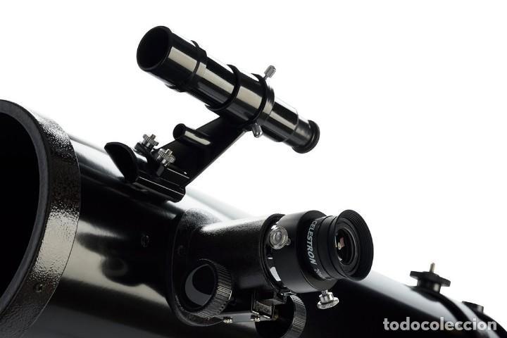 Antigüedades: TELESCOPIO REFLECTOR CELESTRON POWERSEEKER 114EQ - Foto 11 - 168349876