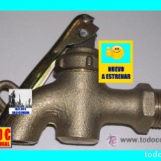 Antigüedades: GRIFO DE SEGURIDAD - AÑOS 50 - NUEVO A ESTRENAR - ACOPLE ROSCA 1/2 PULGADA - 22.50 EUROS. Lote 168400292