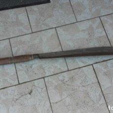 Antigüedades: CUCHILLA DE ABARQUERO. Lote 168415808
