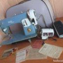 Antigüedades: ANTIGUA MAQUINA DE COSER ALGA MODELO 63. Lote 168486084