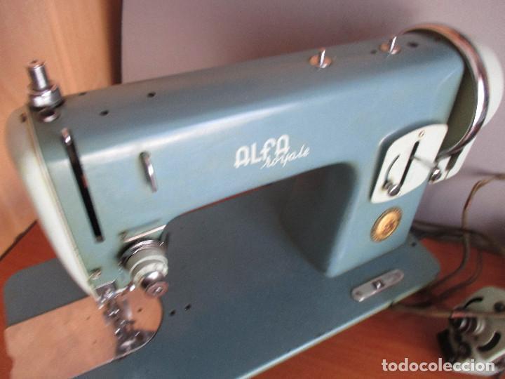 Antigüedades: ANTIGUA MAQUINA DE COSER ALGA MODELO 63 - Foto 22 - 168486084
