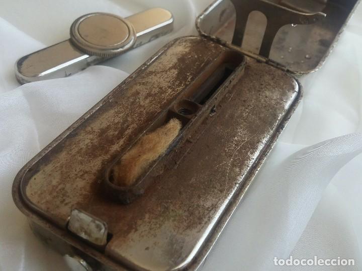 Antigüedades: Antiguo quemador esterilizador de jeringas en caja. - Foto 4 - 168493552