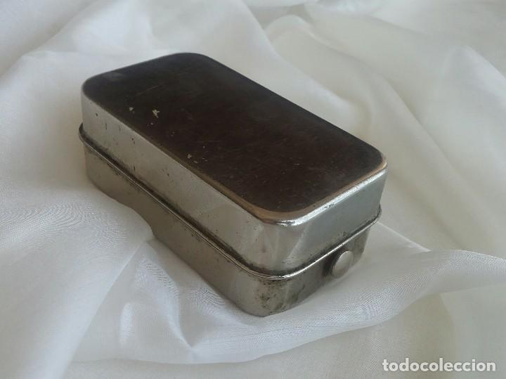 Antigüedades: Antiguo quemador esterilizador de jeringas en caja. - Foto 6 - 168493552