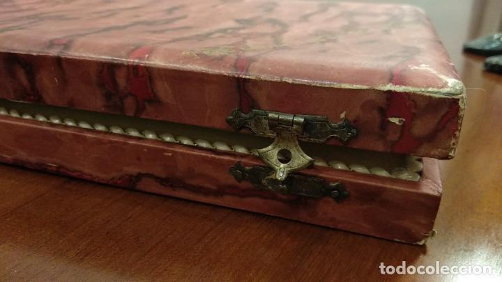 Antigüedades: Juego de tenedor y cuchillo Trincheros en Plata Vermeil - Foto 8 - 168493616