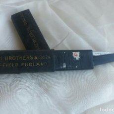 Antigüedades: NAVAJA DE AFEITAR MARSH BROTHERS & CO LTD. ROXO +. Lote 168497624