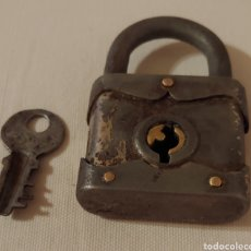 Antigüedades: ANTIGUO CANDADO PRINCIPIOS 1900. Lote 168512370