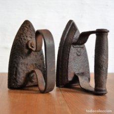 Antigüedades: LOTE DE PLANCHAS DE HIERRO. Lote 168614600