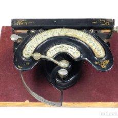Antigüedades: MAQUINA DE ESCRIBIR AMERICAN INDEX Nº2 AÑO 1893 TYPEWRITER SCHREIBMASCHINE. Lote 168723476