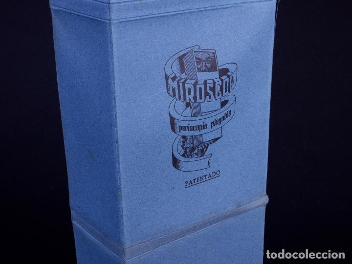 Antigüedades: MIROSCOP. PERISCOPIO PLEGABLE - Foto 9 - 168745752