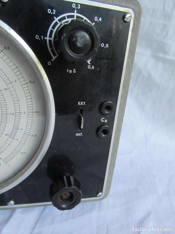 Antigüedades: Generador de variables Philips GM 4144 Puente de medida universal. años 50, con válvulas - Foto 5 - 168746208