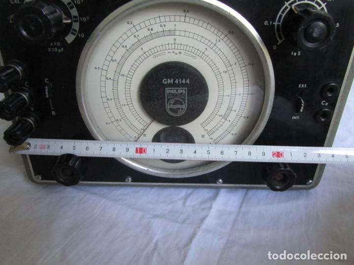 Antigüedades: Generador de variables Philips GM 4144 Puente de medida universal. años 50, con válvulas - Foto 7 - 168746208