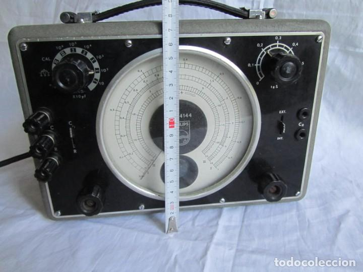 Antigüedades: Generador de variables Philips GM 4144 Puente de medida universal. años 50, con válvulas - Foto 8 - 168746208