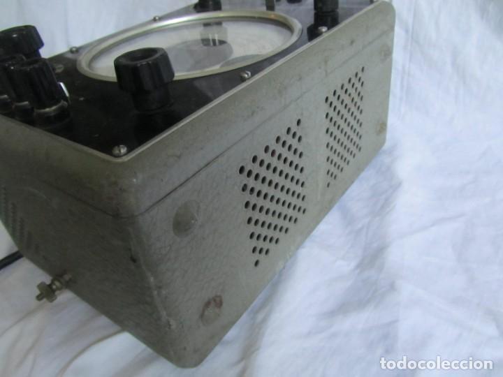 Antigüedades: Generador de variables Philips GM 4144 Puente de medida universal. años 50, con válvulas - Foto 17 - 168746208