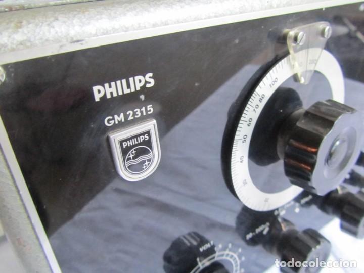 Antigüedades: RC-generador, generador de senos Philips GM 2315, años 50 - Foto 3 - 168746312