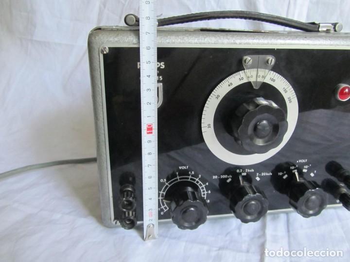Antigüedades: RC-generador, generador de senos Philips GM 2315, años 50 - Foto 8 - 168746312