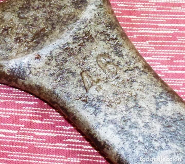 Antigüedades: Antigua herramienta llave del fija del 46 - GFD. - Foto 2 - 168757928