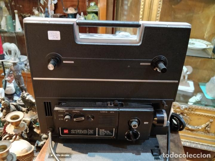Antigüedades: Proyector GAF 2788 Z - Dual 8mm, Super 8, Automático y diferentes velocidades - Foto 3 - 168790112
