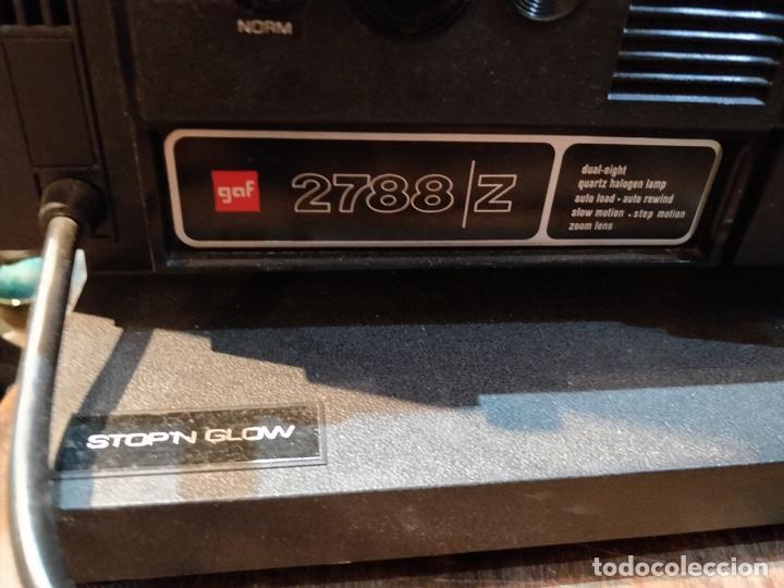 Antigüedades: Proyector GAF 2788 Z - Dual 8mm, Super 8, Automático y diferentes velocidades - Foto 4 - 168790112