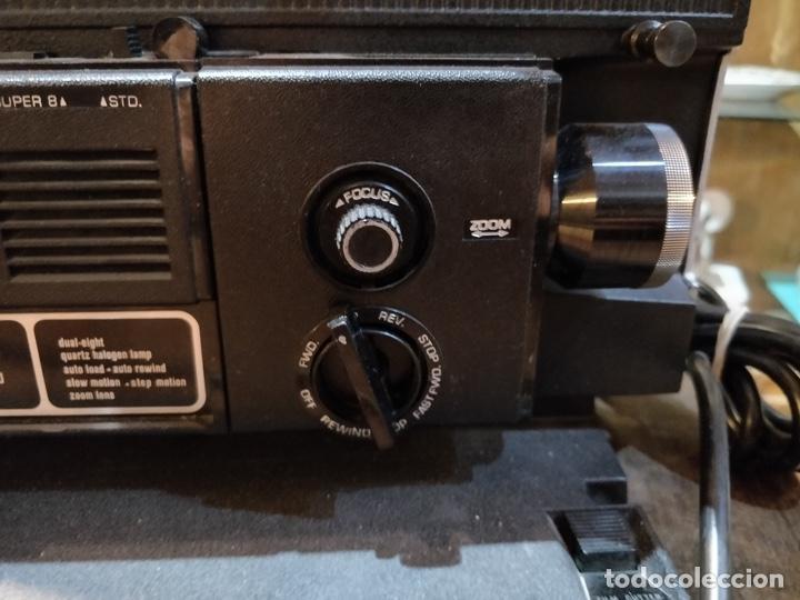 Antigüedades: Proyector GAF 2788 Z - Dual 8mm, Super 8, Automático y diferentes velocidades - Foto 6 - 168790112