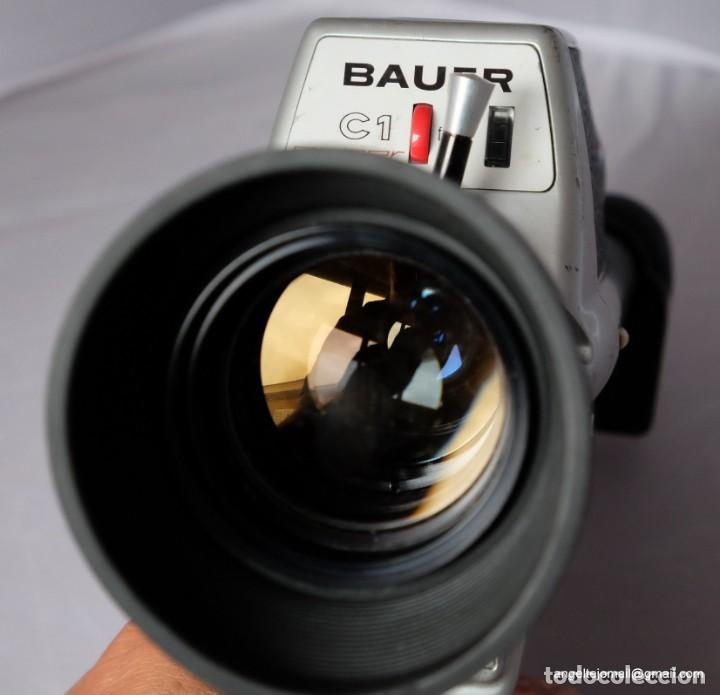 Antigüedades: Bauer super 8. Mod. C 1 Impecable. - Foto 3 - 168790980