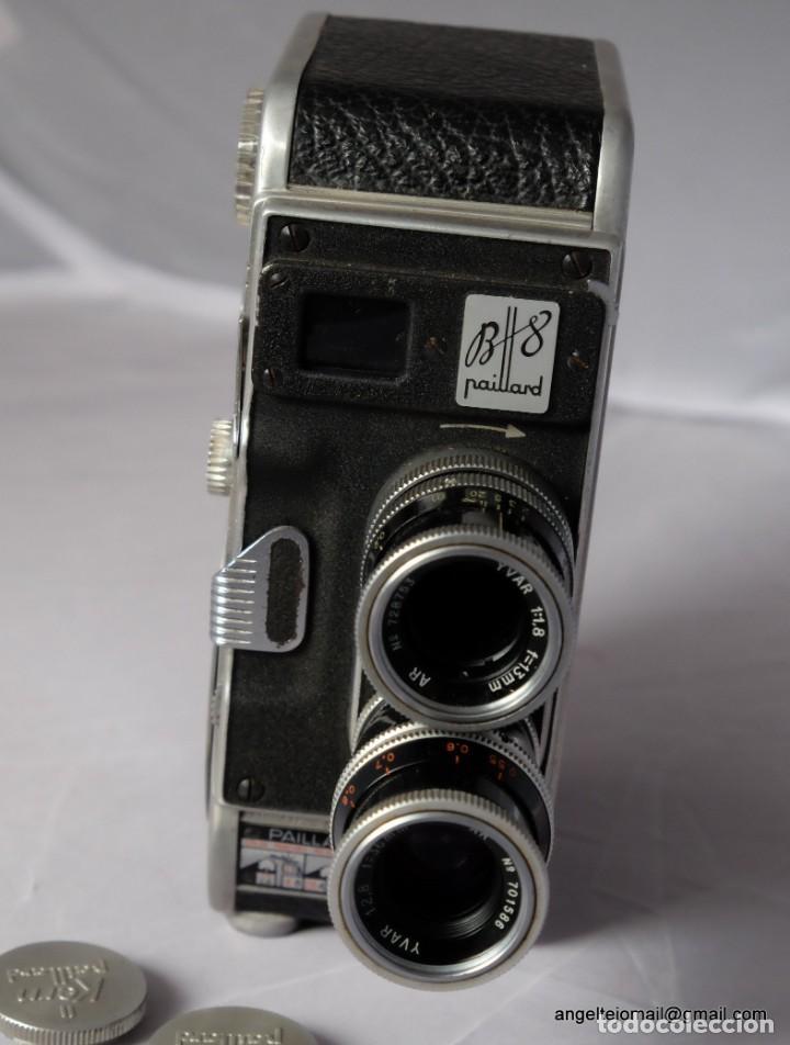 Antigüedades: BOLEX PAILLARD 8 MM.Funciona. - Foto 3 - 209899910