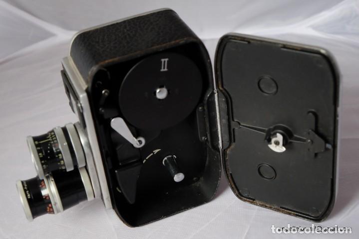 Antigüedades: BOLEX PAILLARD 8 MM.Funciona. - Foto 4 - 209899910