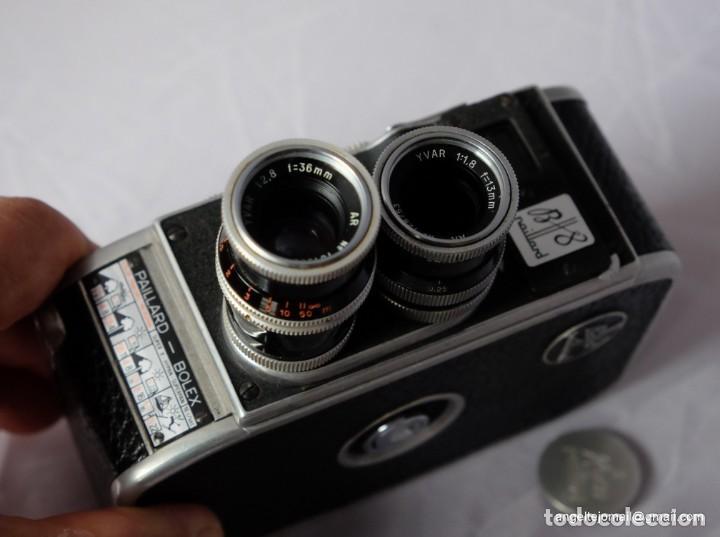 Antigüedades: BOLEX PAILLARD 8 MM.Funciona. - Foto 5 - 209899910