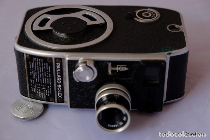 Antigüedades: 8 mm Bolex Paillard.a cuerda, funcionando perfectamente. - Foto 2 - 168799308