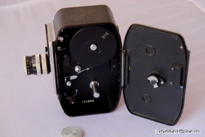 Antigüedades: 8 mm Bolex Paillard.a cuerda, funcionando perfectamente. - Foto 3 - 168799308