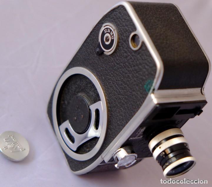 Antigüedades: 8 mm Bolex Paillard.a cuerda, funcionando perfectamente. - Foto 4 - 168799308