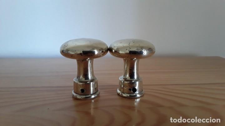 Antigüedades: Bronce, 2 pomos para puerta - Foto 7 - 168847840